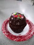 Marble Cake Cupcake